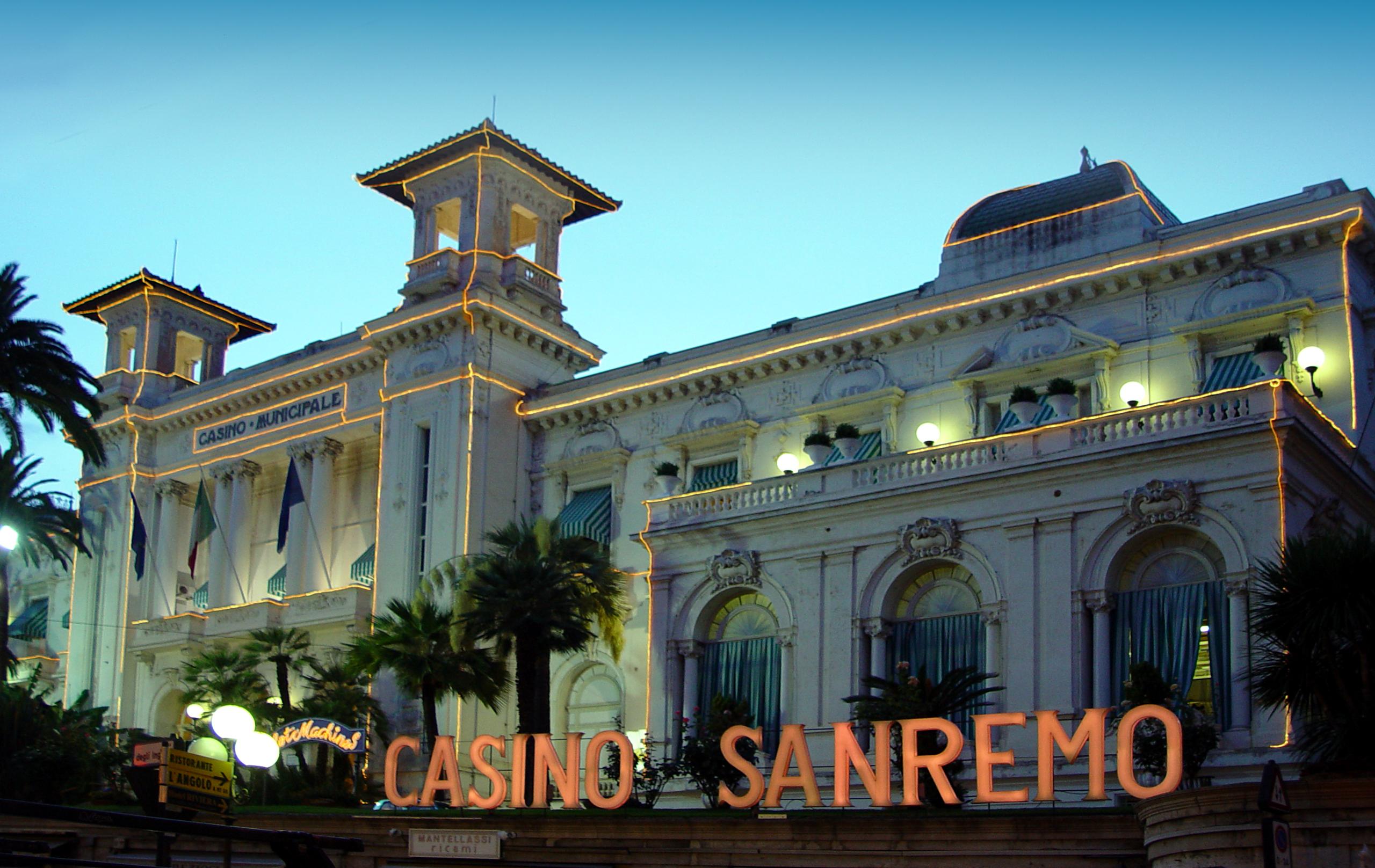Сан ремо казино отзывы интернет казино выигрыш выплачивается моментально перечень