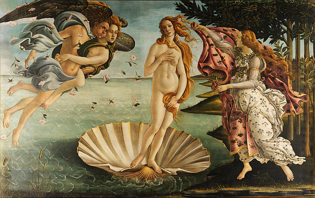 Botticelli's Birth of Venus at the Uffizi, Florence