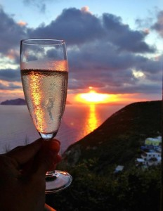Ponza-at-sunset-tour-with-Susan_Van_Allen Women Only Tour to Italy