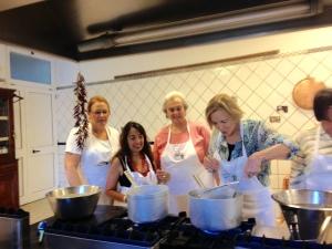 Cooking Class with Susan Van Allen Tour