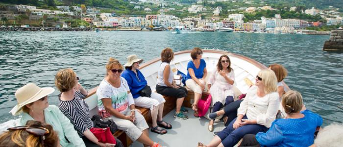 capri_susan_van_allen_ladies_boat_bgCAPRI_Southern_Italy_Tour2015