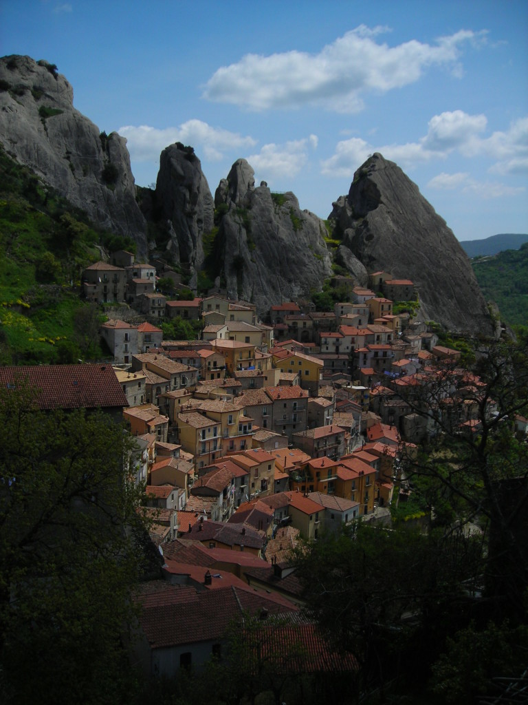 Castelmezzano from above