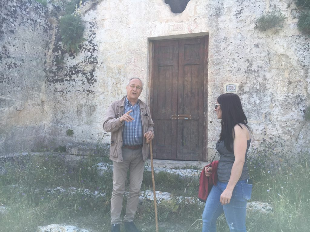 MATERA-PREHISTORIC WITH CESARE