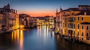 VENICE - GRAND CANAL NIGHT